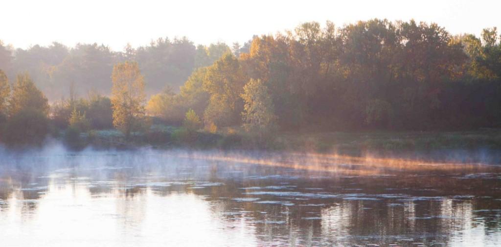 La Loire au petit matin